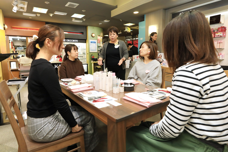 ママの美容講座開催