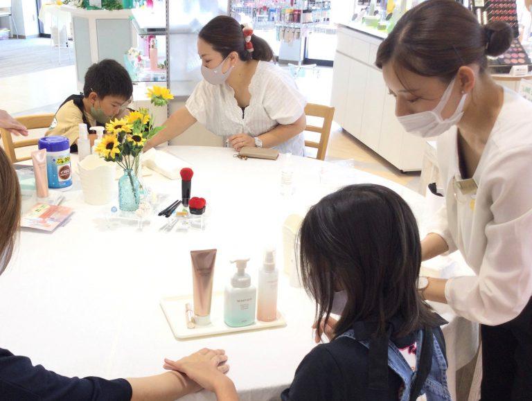 【一宮店】チアフルママさんとのコラボ企画 子どもお仕事体験